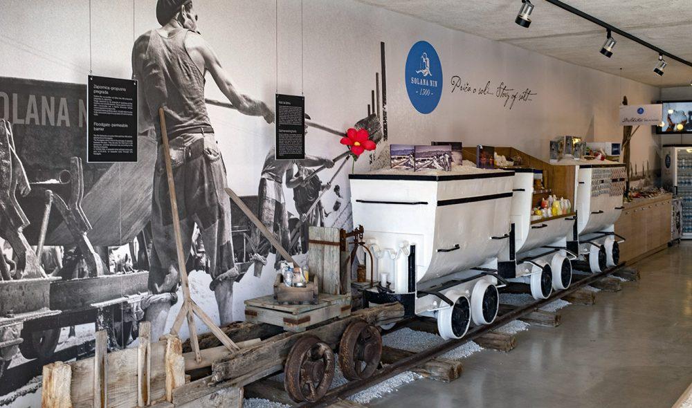 STORE PÅ SALT: Saltmuseet i Pag forteller hvor viktig eksporten av dette mineralet har vært helt siden romertiden.
