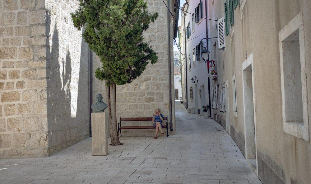 I SMUG: I Pags smug er det ofte stille, selv midt i turistsesongen.