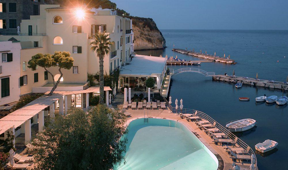 BEST: Mezzatorre Resort & Spa er Ischias mest kjente hotellspa-anlegg.