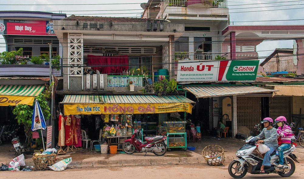 UTVIKLING: Selv om utviklingen på Phu Quoc går i rasende tempo, er mye også ved det gamle.