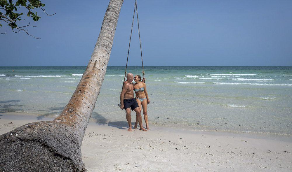 BAI SAO: Også kalt kjærlighets-stranden.