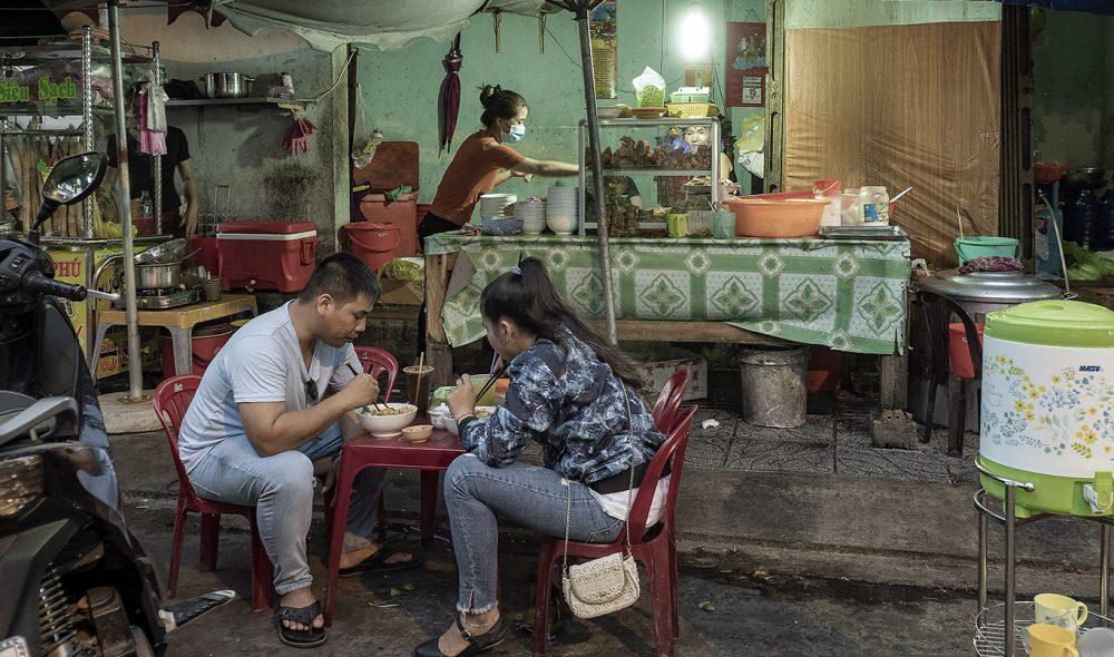 NATTMAT: Klassisk vietnamesisk gatekjøkken.
