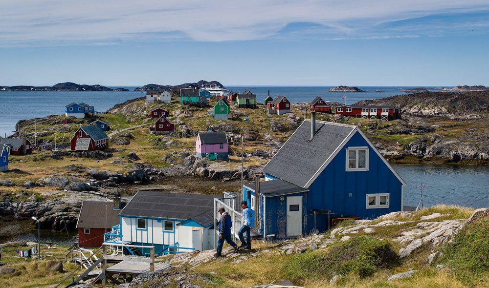 UT MOT HAVET: Itilleq ble etablert for rundt 150 år siden, primært for å komme lettere til fiskebankene utenfor.