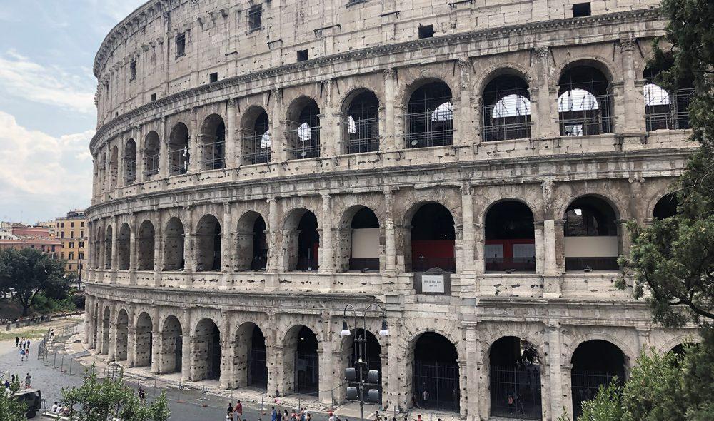 COLOSSEUM: Roma er knapt et par timer unna.