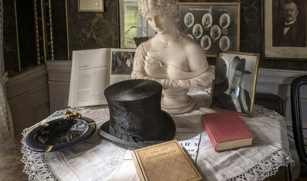GJØVIK GÅRD: I sin tid arrangerte levemannen Caspar Kauffeldt store fester her. I dag er det museum.
