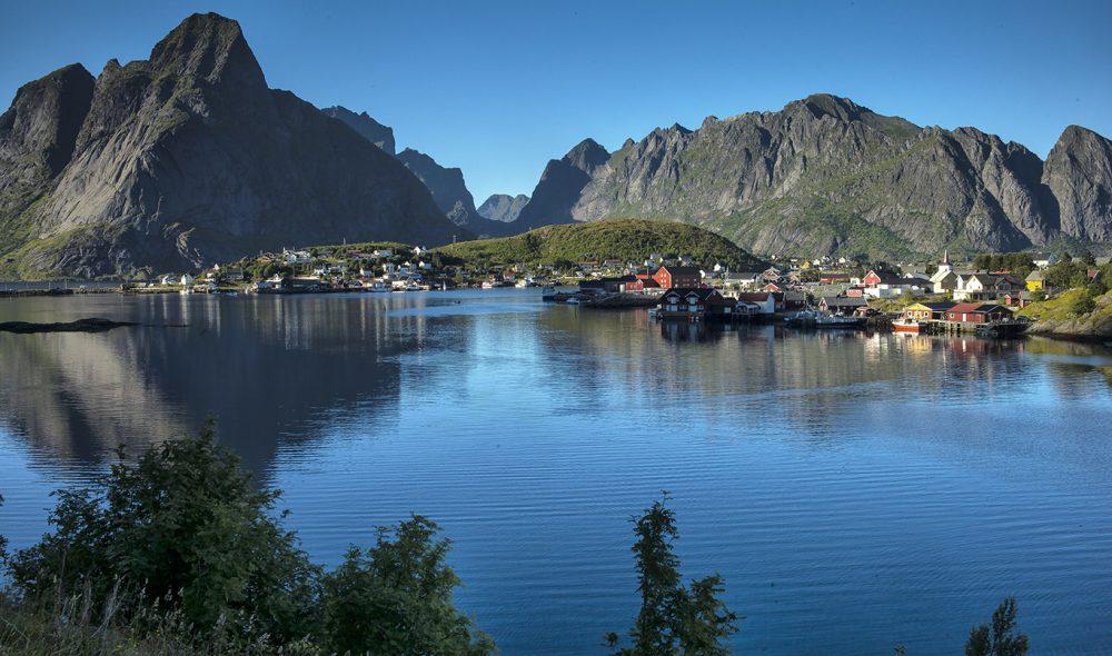 KLASSISK LOFOTEN: Reine er blant de mest populære reisemålene i Nord-Norge.