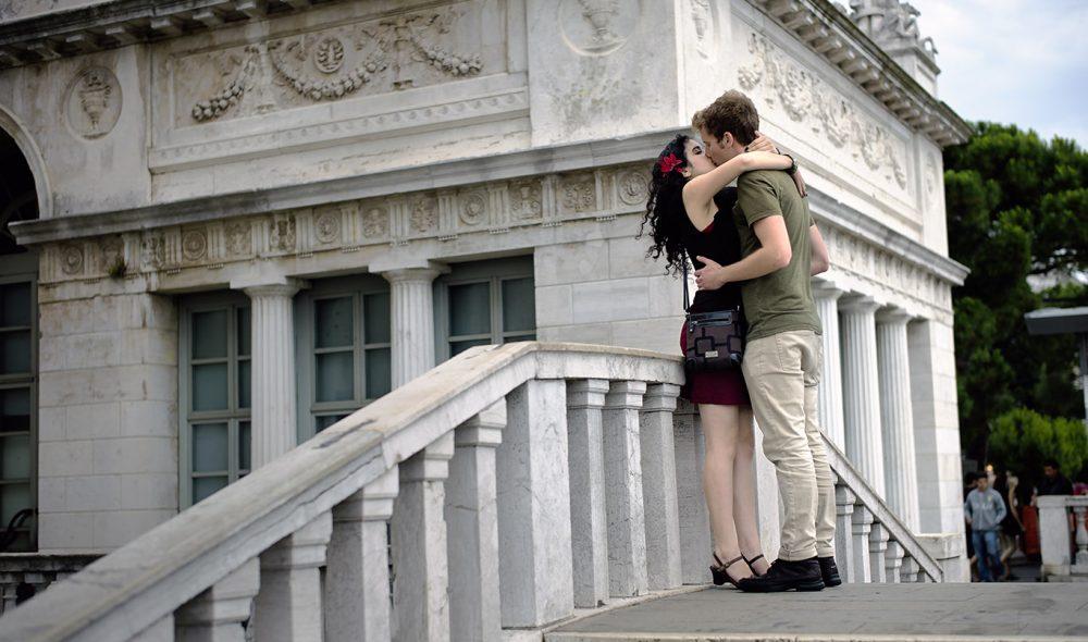KYSSENES BRO: Venezia er romantikernes lekegrind.
