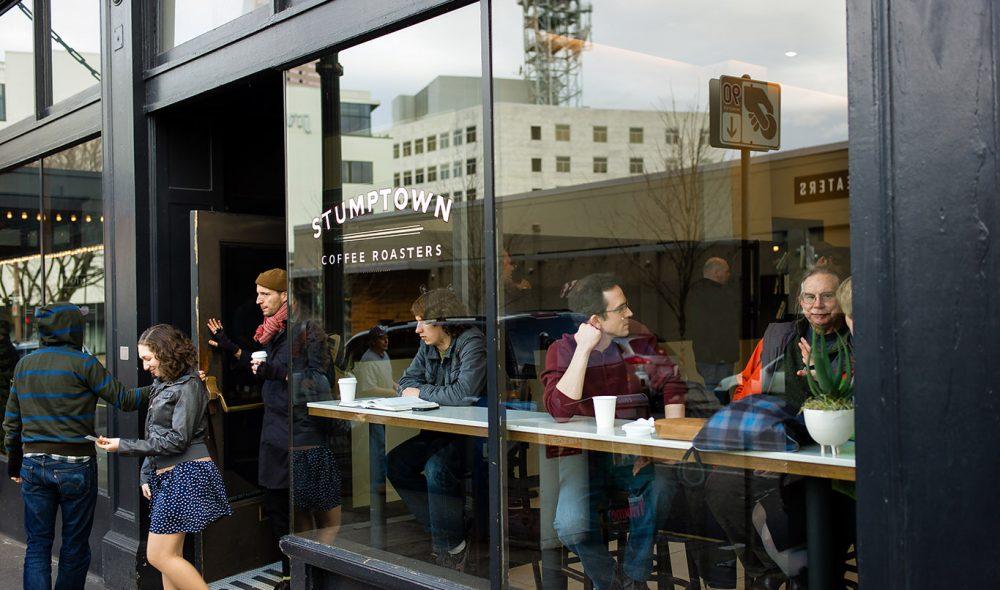 POPULÆR: Stumptown er Oregons mest kjente kaffebrenneri og kafé-konsept.