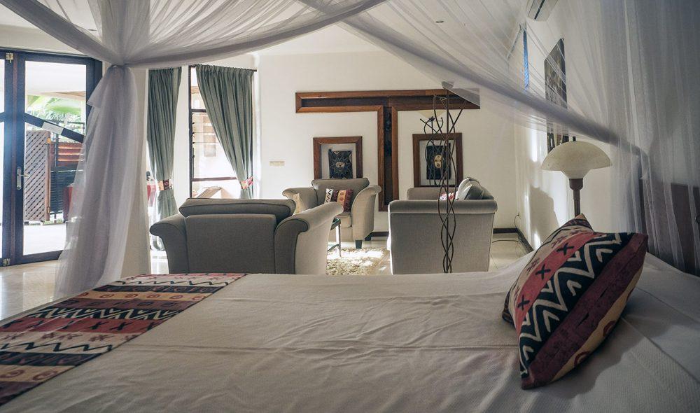 KLASSE: Ngala Lodge er blant de bedre hotellene i Gambia.