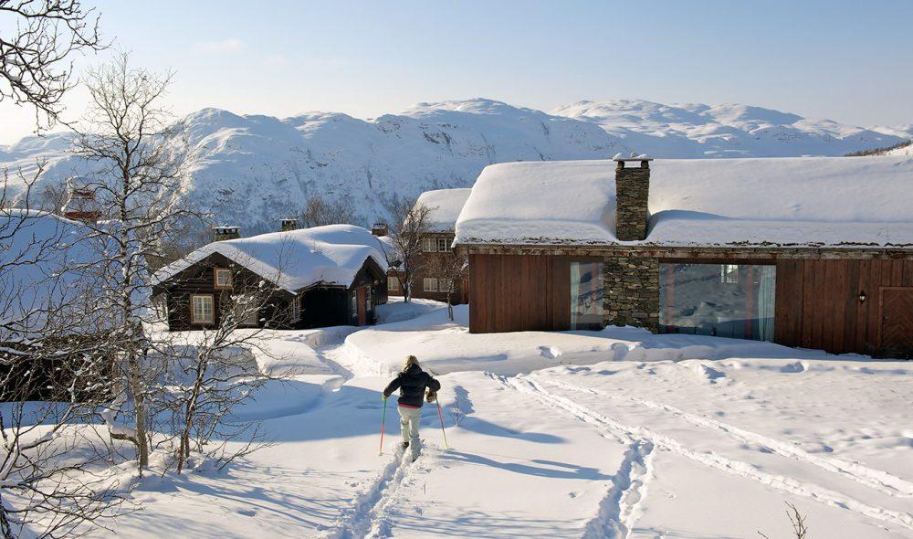 MYE SNØ: Det er ofte glitrende skiforhold så langt opp i fjellet.