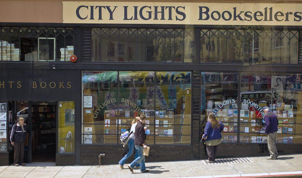 IKONISK: Få bokhandlere har hatt så stor betydning for moderne litteratur som denne.