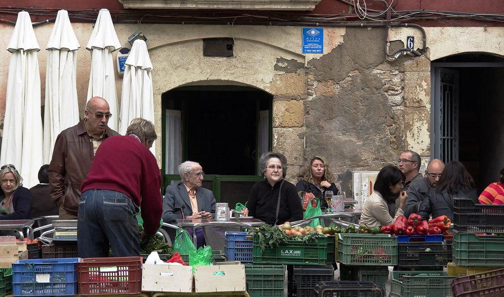 GATELIV: I Tarragona er det lett å komme i kontakt med lokalbefolkningen.