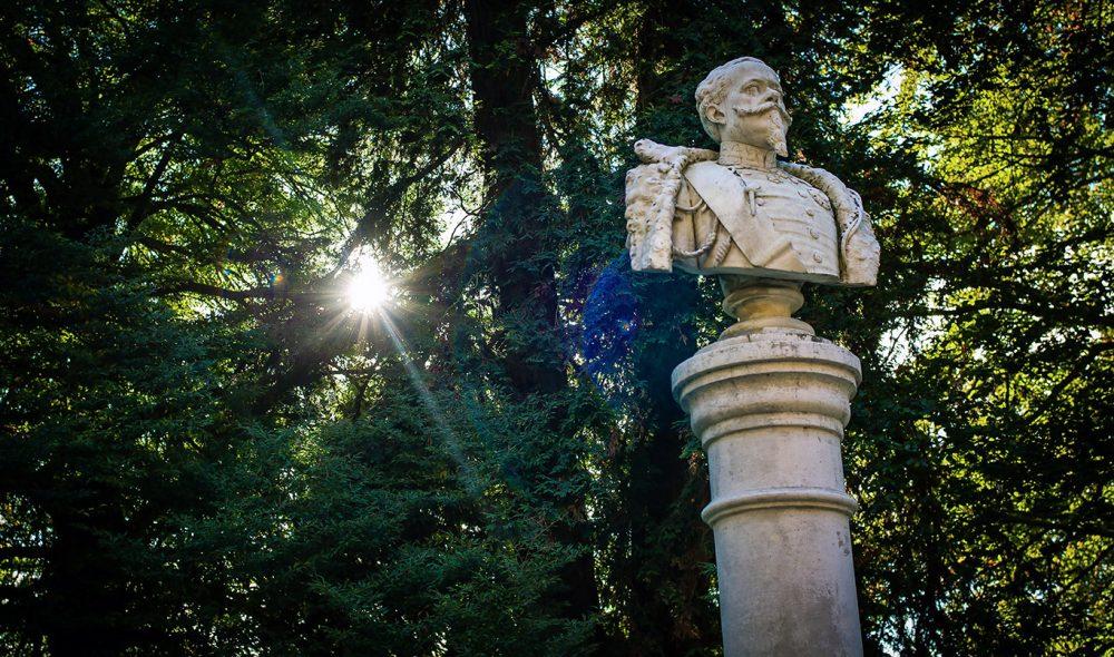 GRUNNLEGGEREN: Det var i 1858 at den daværende kongen av Sardinia - Vittorio Emanuele II -etablerte en sommerresidens der Fontanafredda i dag ligger. Resten er – som man sier - historie