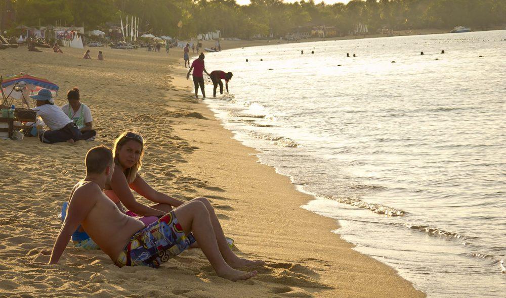 BO PHUT: Koh Samuis strender er tumleplass for både besøkende og øyas egne innbyggere.