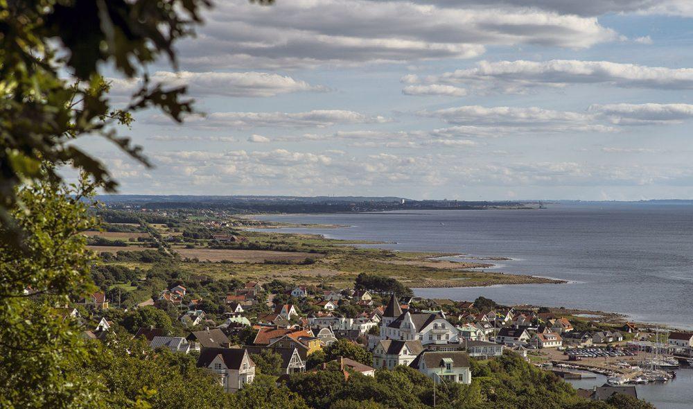 SKÅNEKYSTEN: Det en flere nydelige landsbyer langs kysten i det sørlige Sverige.