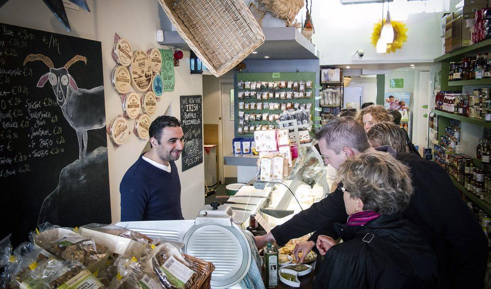 OSTEPOP: På kort tid har irene begynt å produsere kvalitetsost, og en av de beste og mest kjente butikkene, som denne i Camden Street, er Sheridans Cheesemongers.