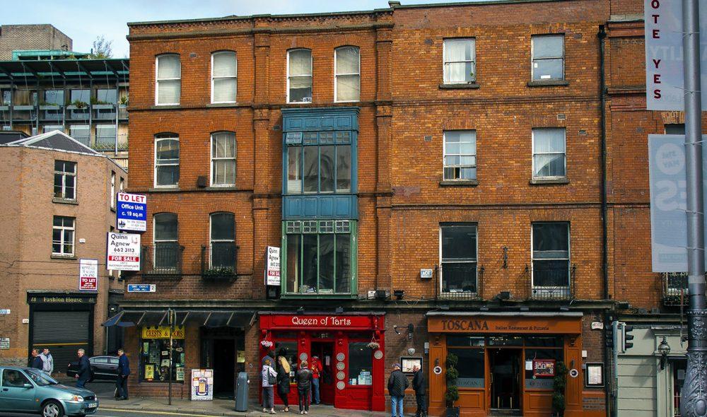 GODE KAFEER: Dublin har mange fine, intime kafeer, som Queen of Tarts, som har knapt 15 sitterplasser.