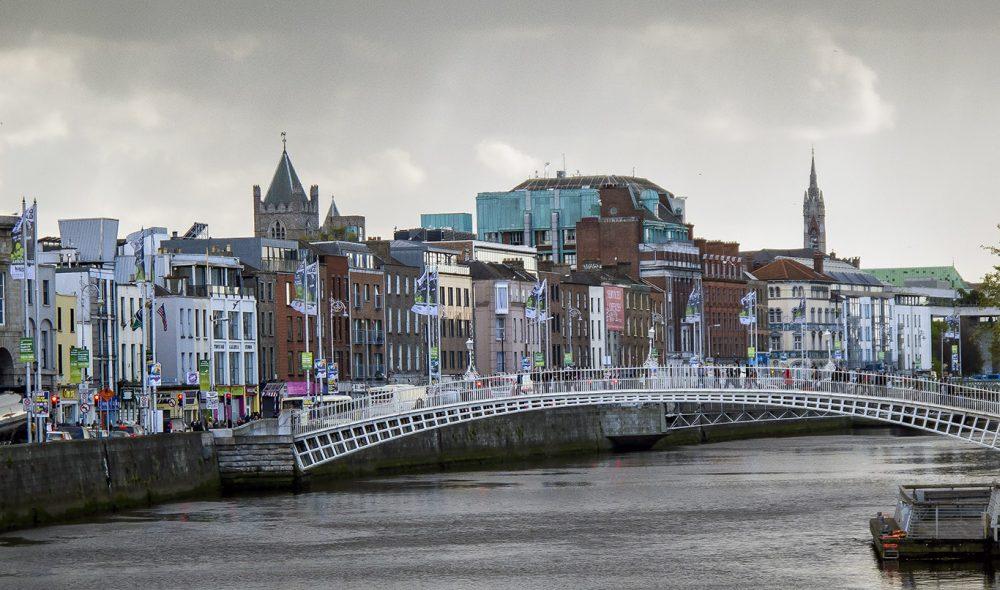 LIFFEY: Dublins hjerte.