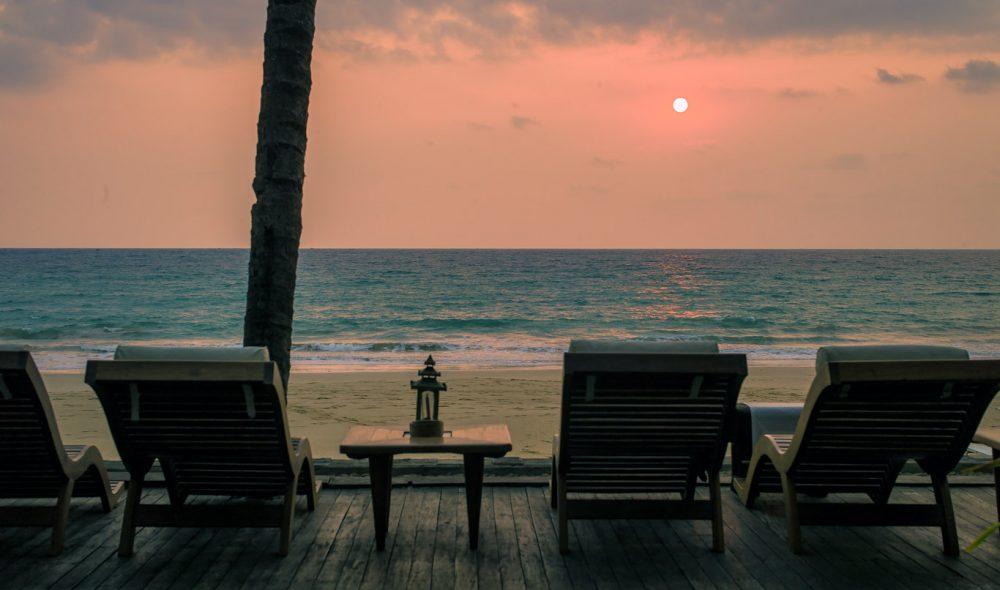 KVELDSLYST: Vakker utsikt Andamanhavet.